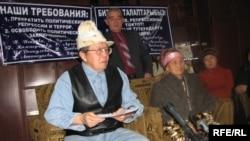 """""""Абийир туткундары"""" гильдиясынын башчысы Топчубек Тургуналиев"""