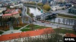 Pamje nga kryeqyteti Vilnius në Lituani