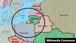 Дальність дії ракет комплексу «Іскандер-М» після розміщення в Калінінградській області