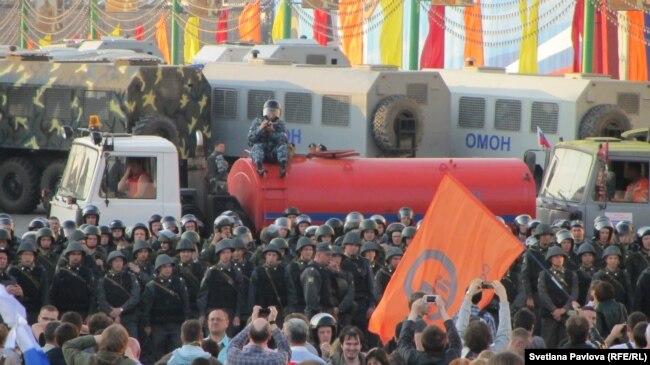 """""""Марш миллионов"""" на Болотной площади 6 мая 2012 года"""