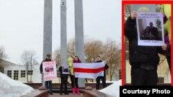 Пикет в поддерку Сергея Коваленко