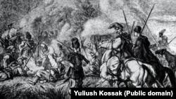 «Табір гайдамаків», ілюстрація Юліуша Коссака, XIX сторіччя