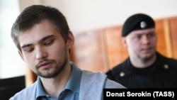 Обвиняемый в оскорблении чувств верующих российский блогер Руслан Соколовский.