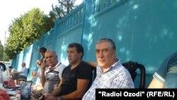 Рашид Раҳимов бо Шариф Назаров дар Душанбе, соли 2012
