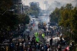 Противостояние на улицах Бангока. 2 декабря 2013 года