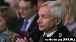 Рэктар БДУ Сяргей Абламейка