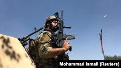 Представник афганських сил безпеки