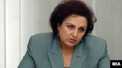 Macedonia - Mirjana Dimovska, President of the State Anti Corruption Comission, Skopje, 1Feb2009