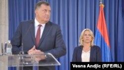 Potraga za podrškom u SAD: Milorad Dodik i Željka Cvijanović