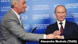 Валерий Израйлит и Владимир Путин