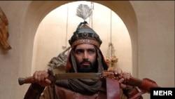 صحنه ای از سریال مخنارنامه که موجب اعتراض روحانیون اهل سنت شد