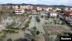 Pamje nga vërshimet e mëparshme në Shqipëri