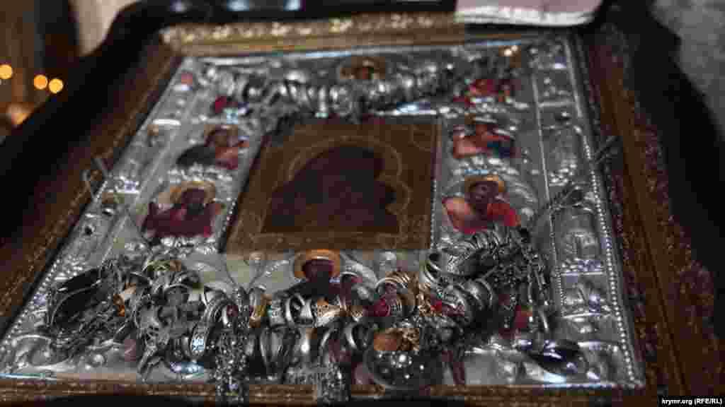 Икона в Храме Иверской иконы Божьей Матери