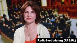 Ukraine's new prosecutor-general, Iryna Venedyktova (file photo)