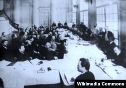Заседание аграрной комиссии I Государственной Думы. Май 1906