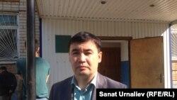 Орал қаласындағы ветеринарлық станция бастығы Қайрат Төлеуішев. 22 мамыр 2015 жыл.