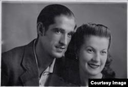 Родители Рикардо Мигель и Луиза