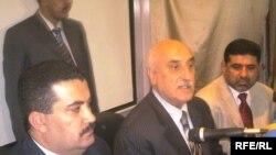 وزير التخطيط علي بابان في إجتماع بالعمارة، العراق