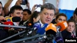 Петро Порошенко, 25 травня 2014 року
