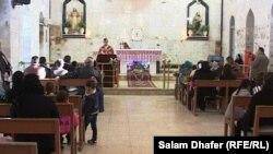 قداس الميلاد في كنيسة أم الاحزان في العمارة