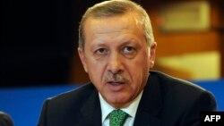 Kryeministri turk, Recep Tayyip Erdogan.