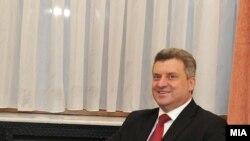 Претседателот на Македонија Ѓорге Иванов