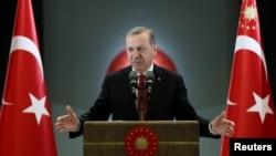 Прэзыдэнт Турцыі Рэджэп Таіп Эрдаган