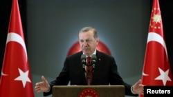 Türkiýäniň prezidenti Rejep Taýyp Erdogan, Ankara, 27-nji iýun, 2016