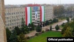 Бинои ҳукумати вилояти Суғд. Шаҳри Хуҷанд