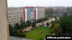 Намое аз шаҳри Хуҷанд, маркази маъмурии вилояти Суғд.
