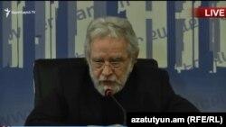 Главный архитектор Еревана Артур Месчян.