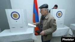 Виборча дільниця у Вірменії, 2 квітня 2017 року