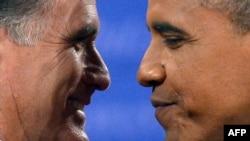 Борак Обама ва Митт Ромнӣ, номзадҳо ба курсии президентии ИМА.