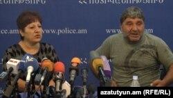 Զինված խմբի անդամ երկու երիտասարդների ծնողների` Մարինե Պապիկյանի և Մերուժան Սողոմոնյանի մամլո ասուլիսը, 20-ը հուլիսի, 2016 թ․