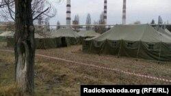 Табір ДСНС біля Балаклії