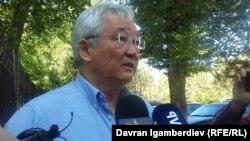 Former Bishkek Mayor Kubanychbek Kulmatov