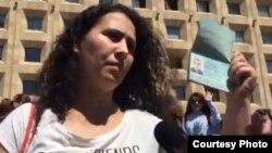 Супруга Афган Мухтарлы убеждена, что его похищение – дело рук грузинских и азербайджанских спецслужб