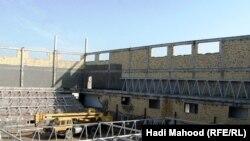 مشروع بناء قاعة رياضية مغلقة في المساوة