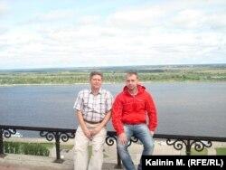 Денис Калинин с отцом