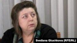 Евгения Козырева, президент «Феминистской лиги» Казахстана.