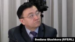 Қазақстан президенті жанындағы адам құқығы жөніндегі комиссияның хатшысы Тастемір Әбішев. Астана, 24 қаңтар 2013 жыл.
