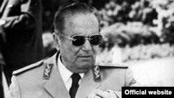 Бывший лидер бывшей Югославии Иосип Броз Тито