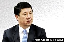 Gyrgyz premýer-ministri Temir Saryýew.