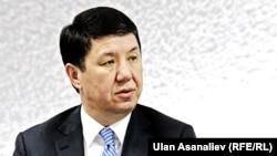 Қирғизистон Бош вазири Темир Сариев.