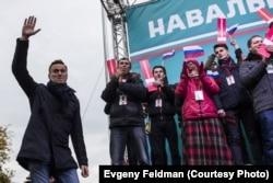 Олексій Навальний в Новосибірську