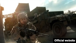 A screenshot from the video game Operation Flashpoint: Red River, which is set in Tajikistan