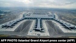 Noul aeroport de la Istanbul, imagine de arhivă.