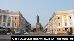 Одеса, пам'ятник Арману де Рішельє (Дюку), ілюстраційне фото