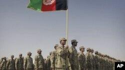 Припадници на авганистанската полиција