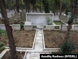 Ağaoğlu ailəsinin məzarları (Foto: Səbuhi Əliyev)
